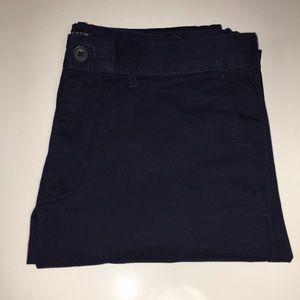 Navy Blue J. Crew Chino Pant (Size: 31/32)